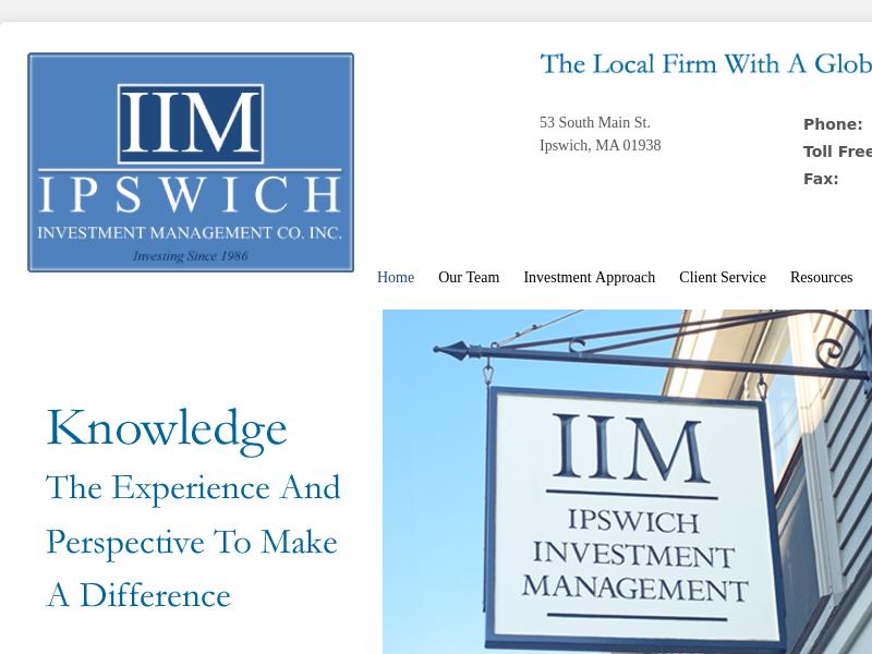 "Home | Ipswich Investment Management, Co. (""IIM"")"