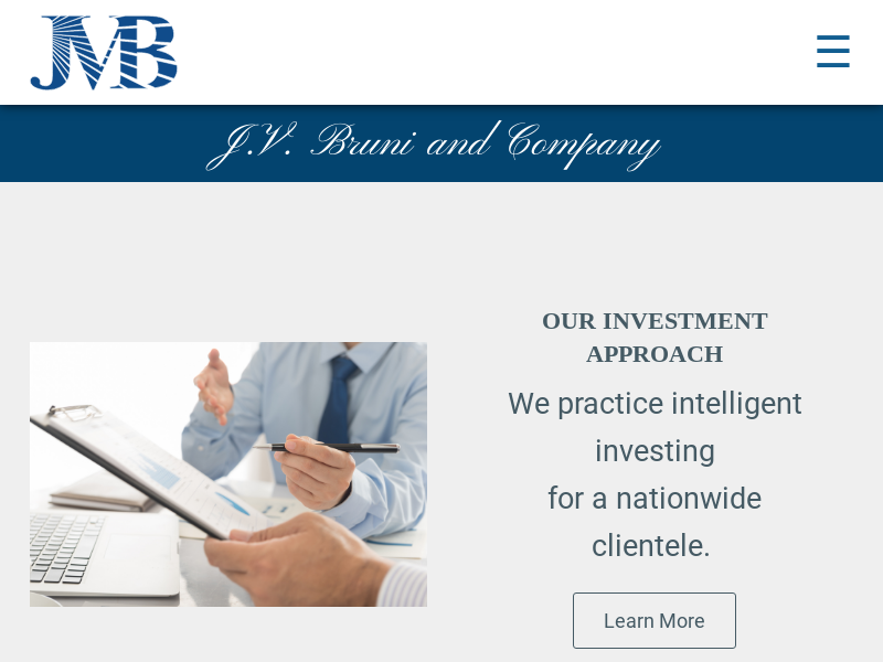 Home Page | J.V. Bruni and Company