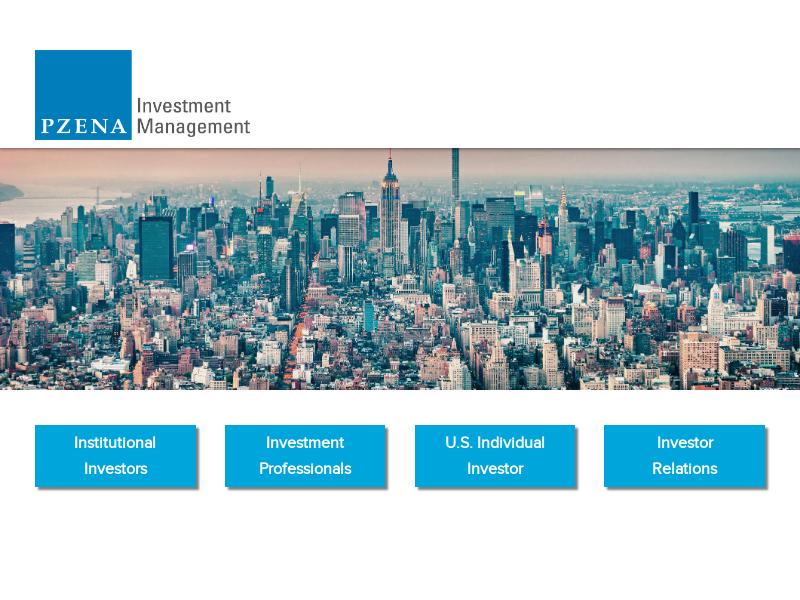 Pzena Investment Management - Site Map