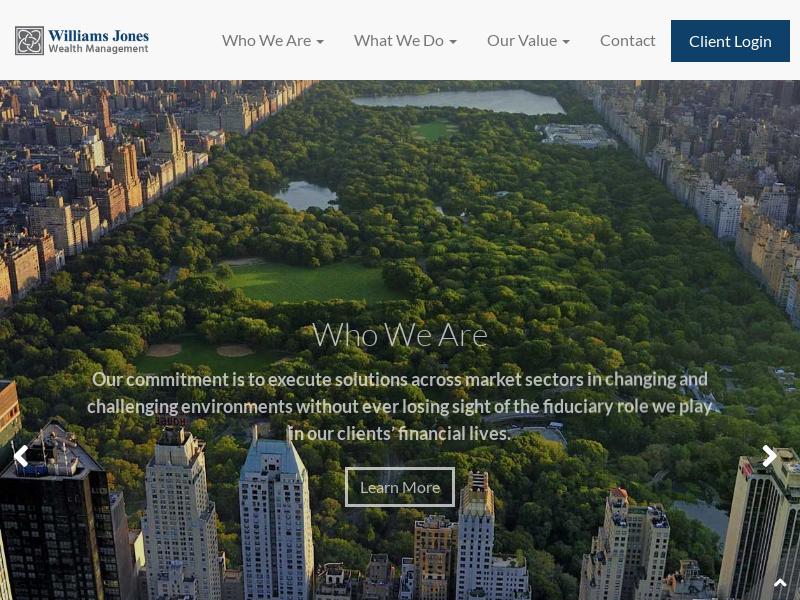Home | William Jones Wealth Management