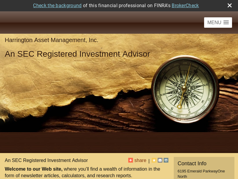Harrington Asset Management Inc.