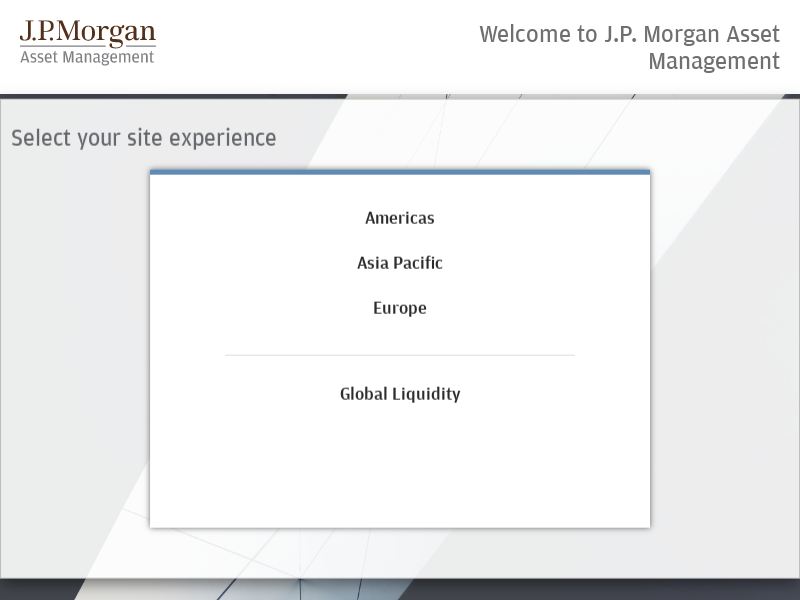 Global Institutional - U.S. -          J.P. Morgan Institutional Asset Management