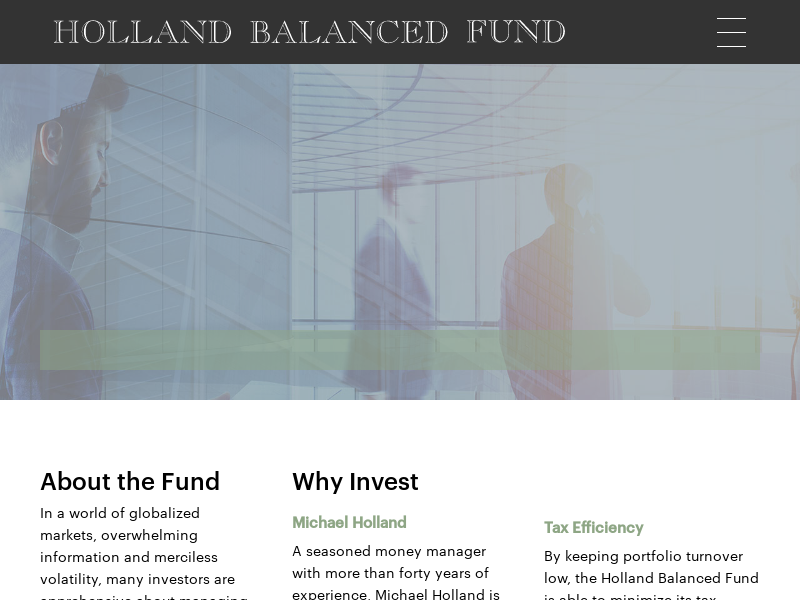 The Holland Balanced Fund