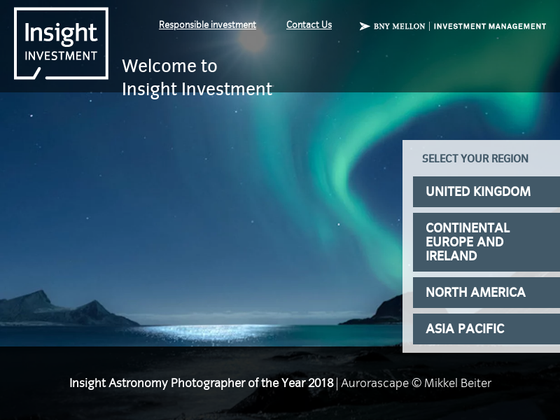 Welcome to Insight Investment