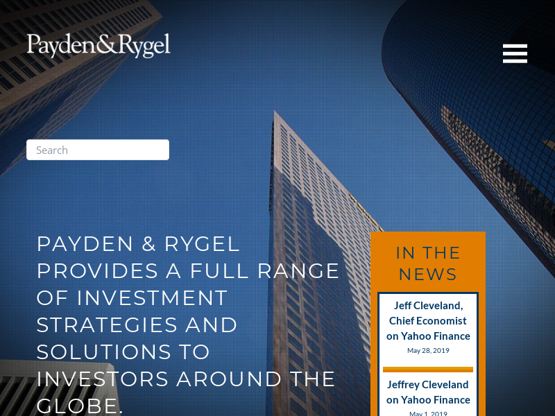 Payden & Rygel Investment Management, Mutual Funds, Investment Strategies, UCITS Funds