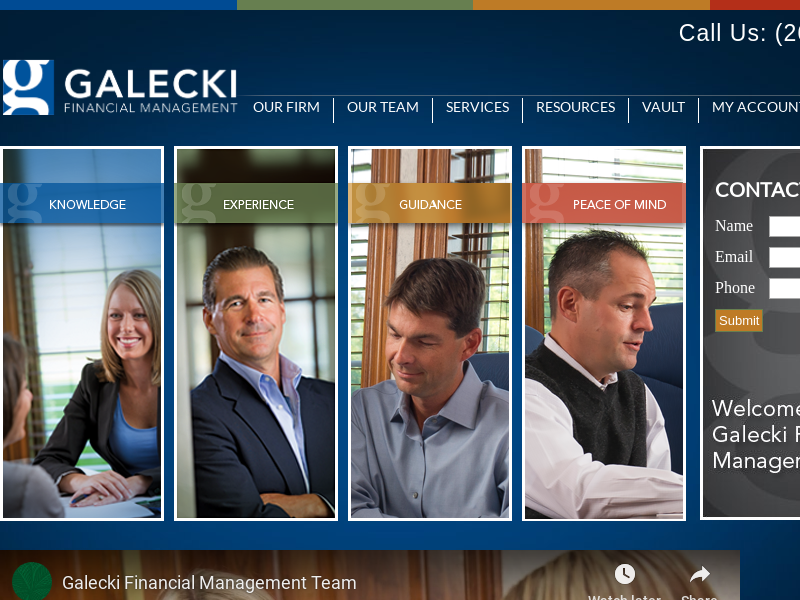 Fort Wayne Fee Only Financial Advisor - Galecki Financial Management