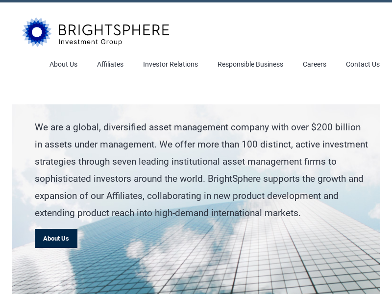 BrightSphere Investment Group