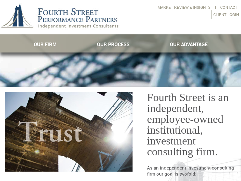Fourth Street Performance Partners | Independent Investment Consultants