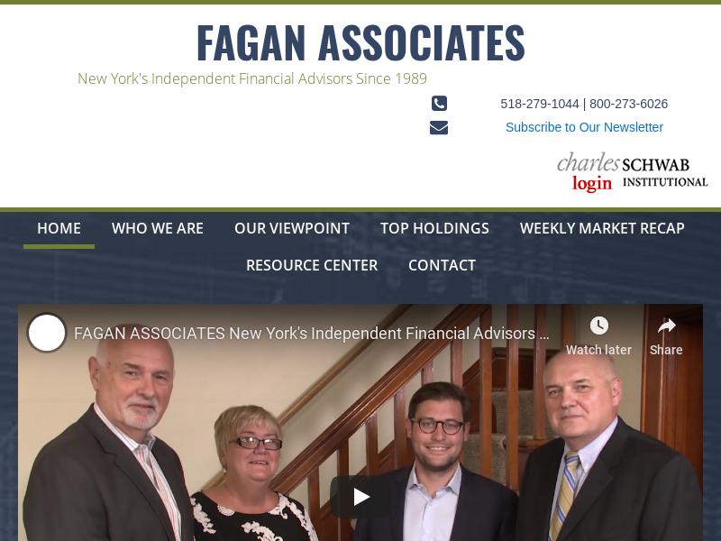 Fagan Associates - New York's Independent Financial Advisors Since 1989