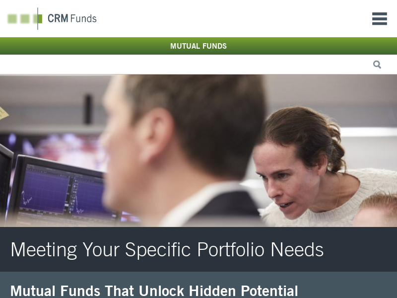 CRM – Mutual Funds