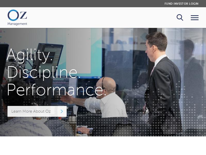 Oz Management | Agility. Discipline. Performance.