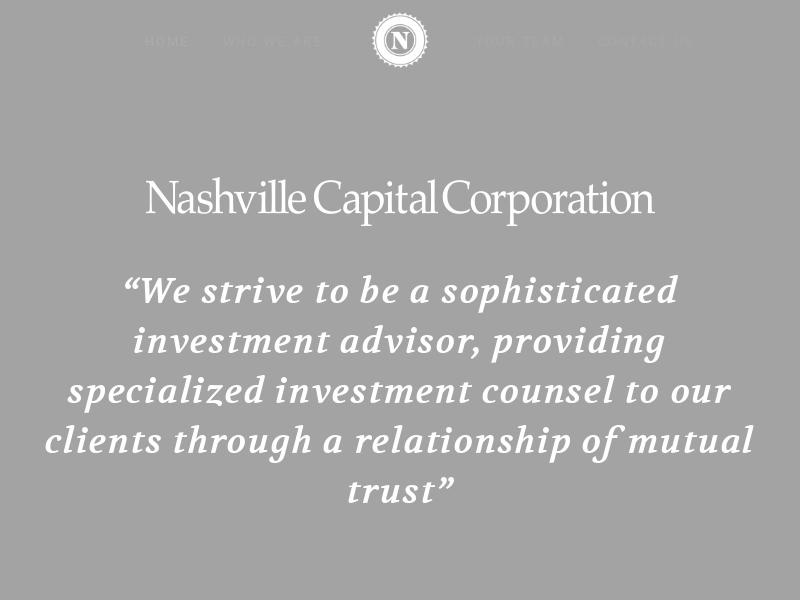 Nashville Capital Corporation