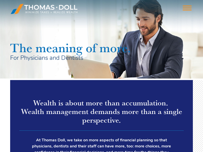 Thomas Doll | Tax, Retirement and Wealth Advisors