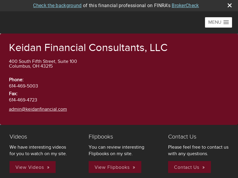 Keidan Financial Consultants, LLC
