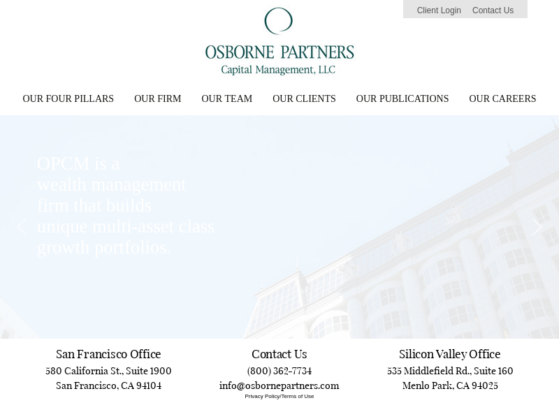 Osborne Partners Capital Management - Investment Management and Active Financial Planning