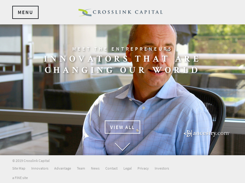 Welcome - Investing in tomorrow's leading companies - Crosslink Capital