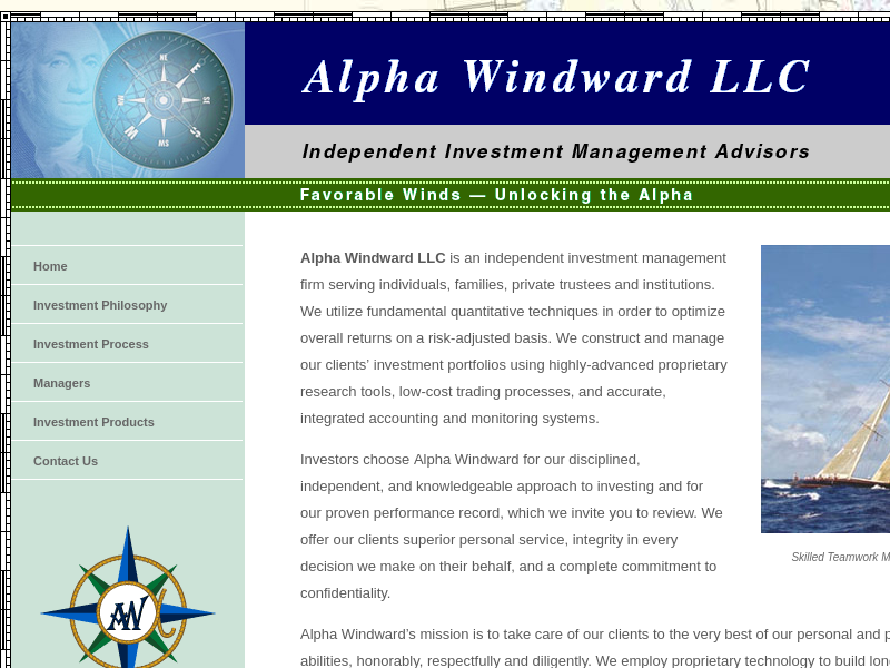Alpha Windward LLC Home