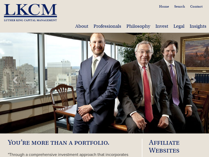 Home - Luther King Capital Management