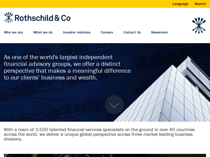 US based active management expertise - Asset Management - Rothschild & Co