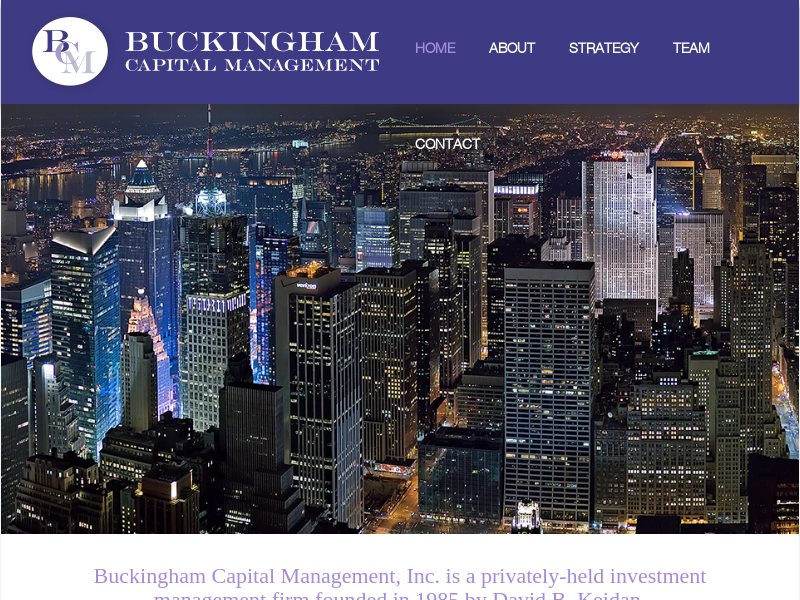Home - Buckingham Capital Management