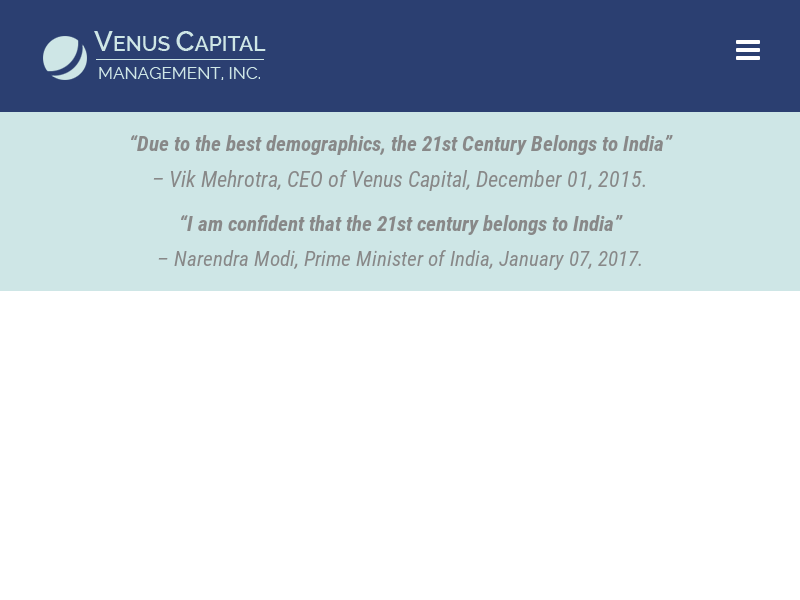 Capitalizing on Inefficiencies in India | Venus Capital