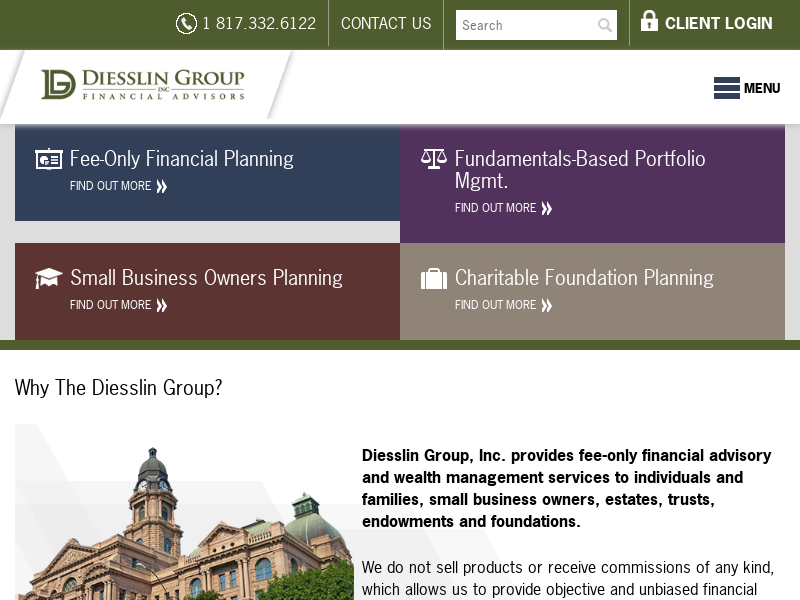 Diesslin Group, Inc. | Fee-only Financial Planning and Investment Management Firm