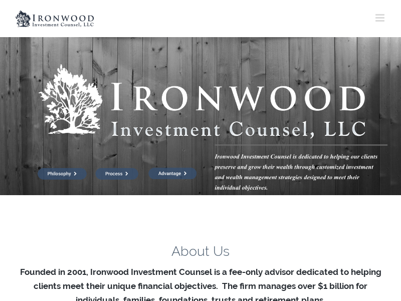 Homepage | Investment and Wealth Management | Ironwood Investment Counsel
