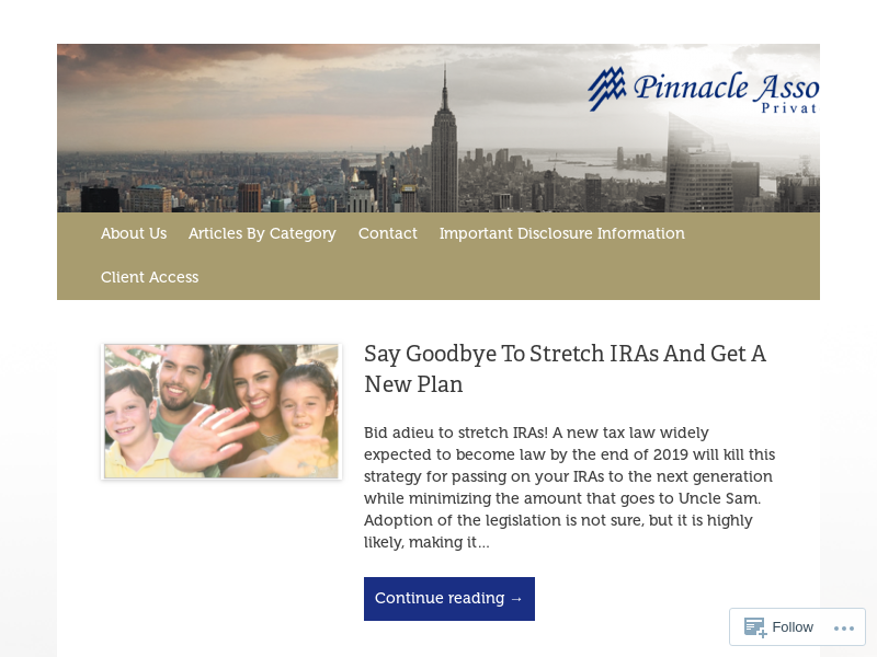 Pinnacle Insights | THIS FINANCE BLOG IS POWERED BY
