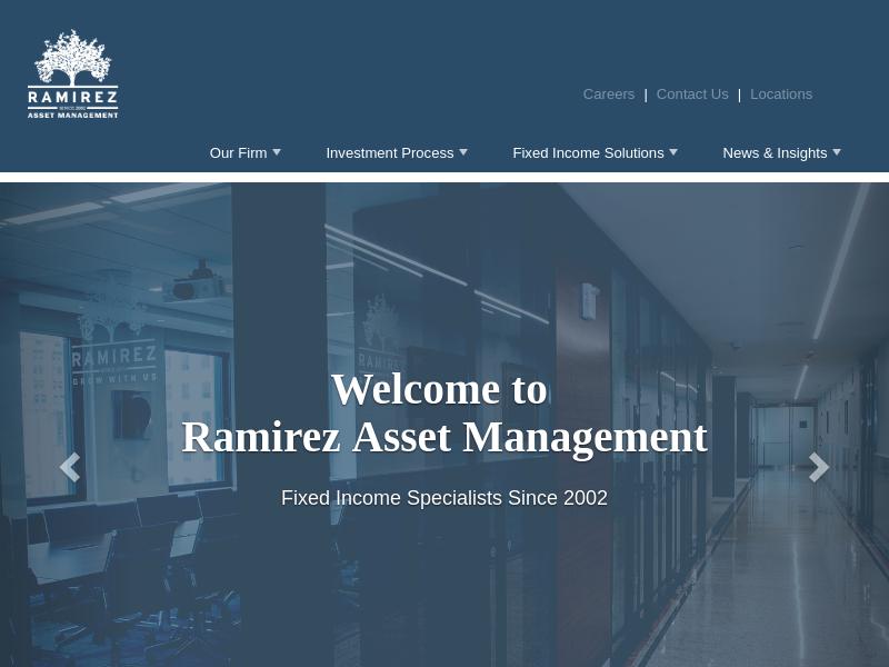 Home Page - Ramirez Asset Management