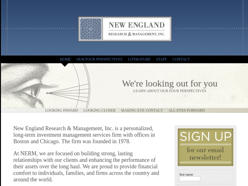New England Research & Management