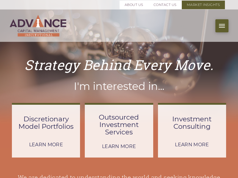 Advance Capital Management Institutional - Advance Capital Management - Institutional