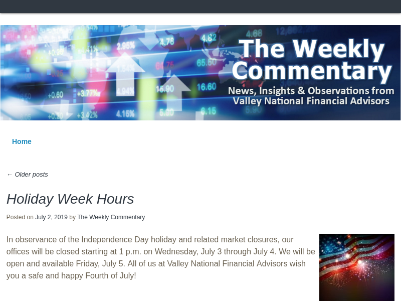 The Weekly Commentary - Observations of the current state of the stock and bond markets