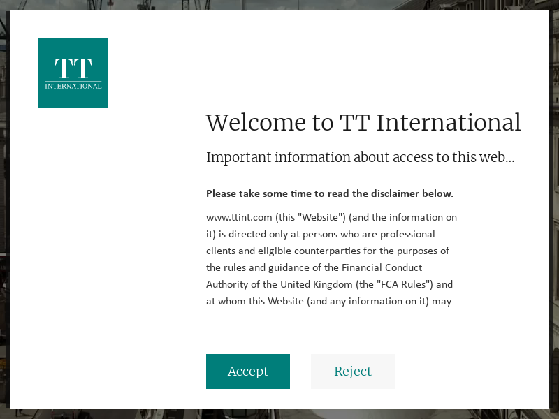 TT International – independent global asset manager specialising in long-only and alternative strategies.