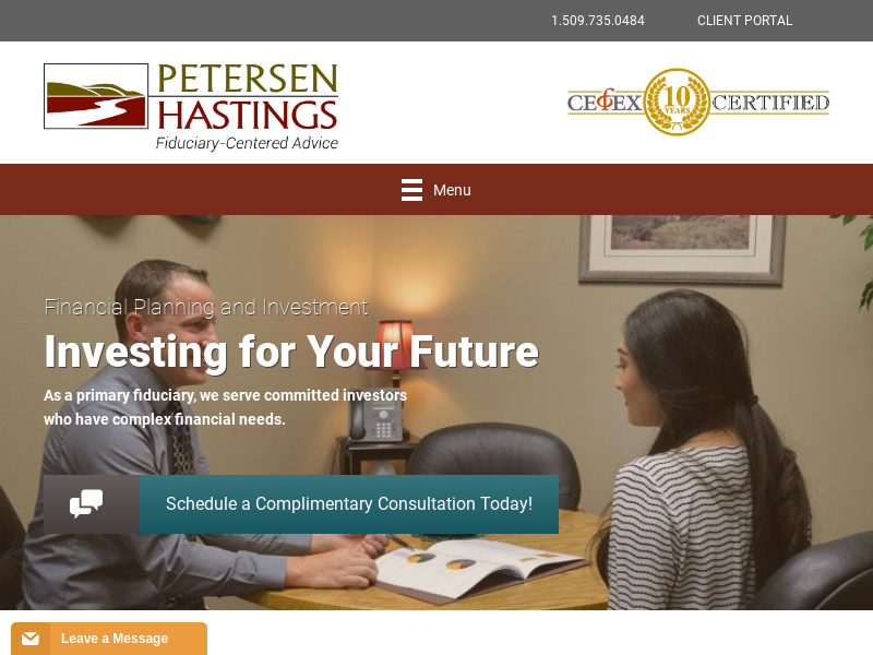 Petersen Hastings | Fiduciary-Centered Advice | Investment Advisors