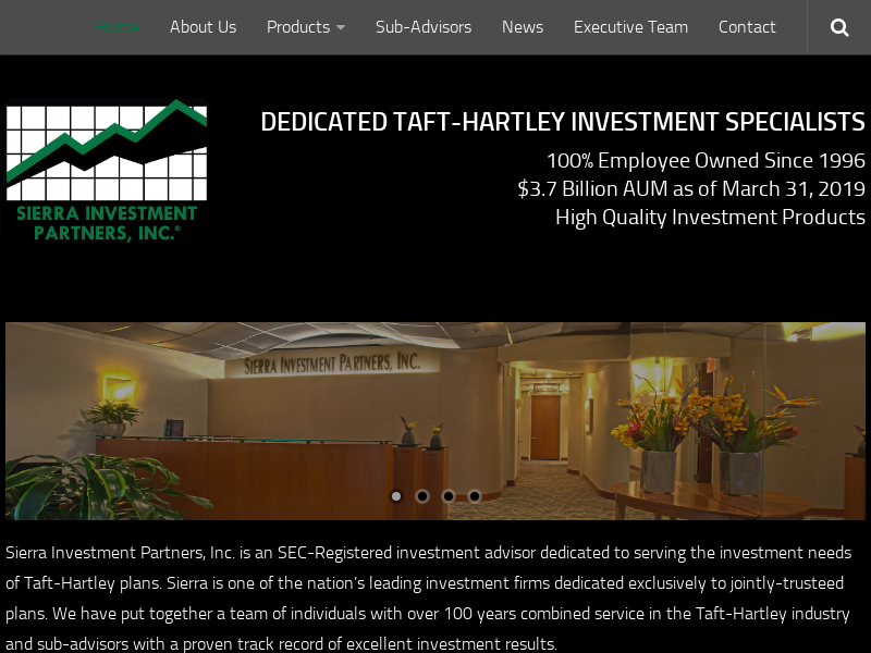 Sierra Investment Partners, Inc.: Home