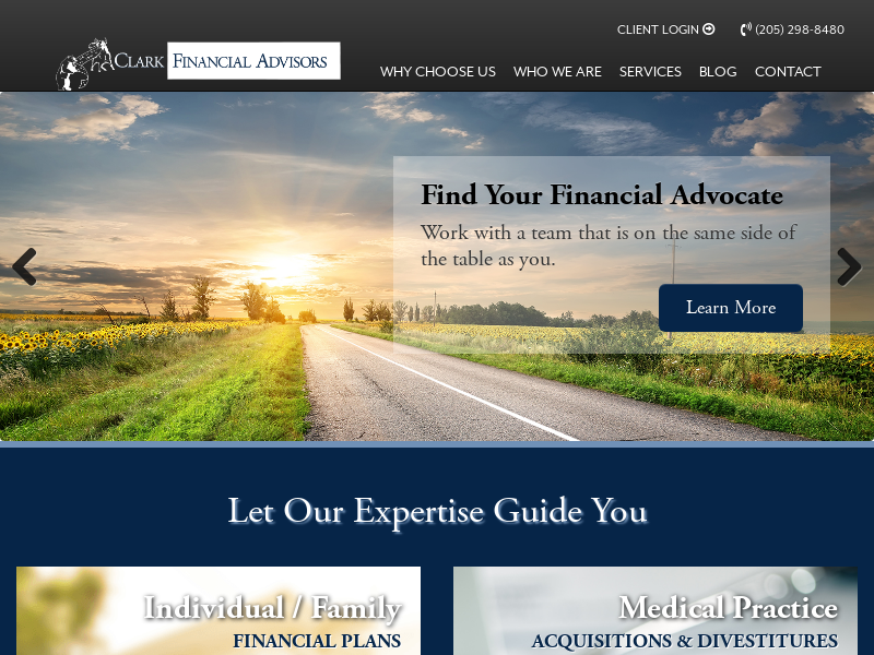 Clark Financial Advisors | Financial Planning Firm