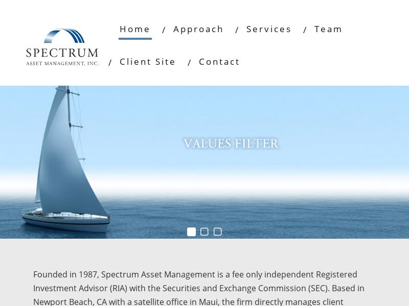 Spectrum Asset Management, Inc – Where Self Defines Wealth