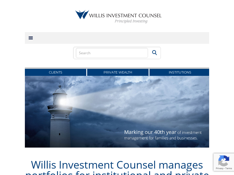 Willis Investment Counsel