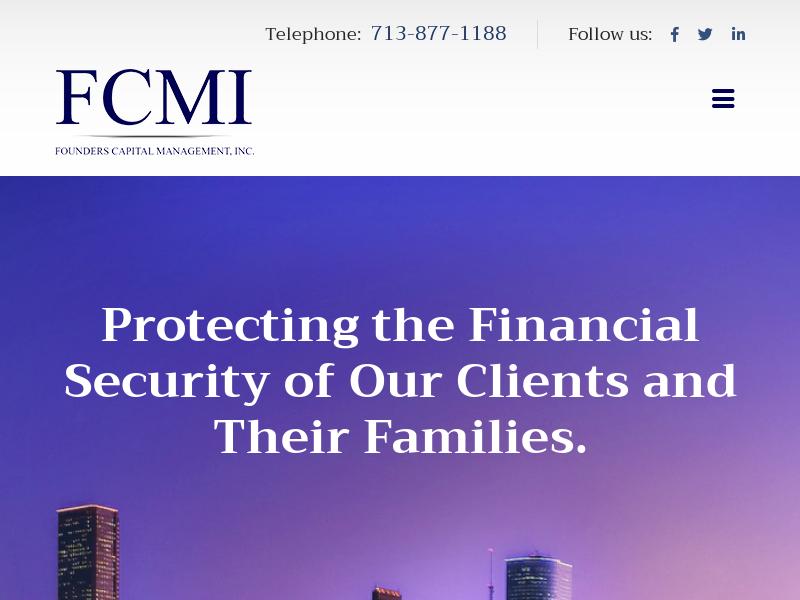 Founders Capital Management, Inc.