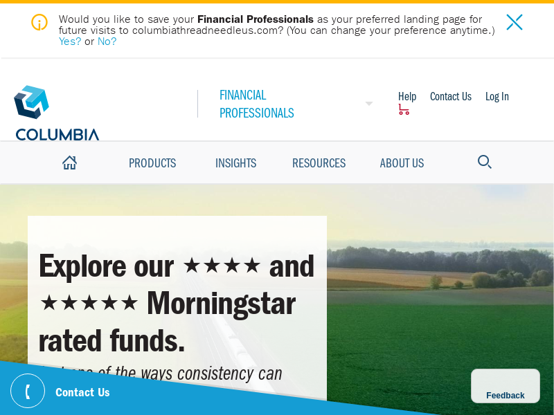 Financial Professionals | Columbia Threadneedle Investments US