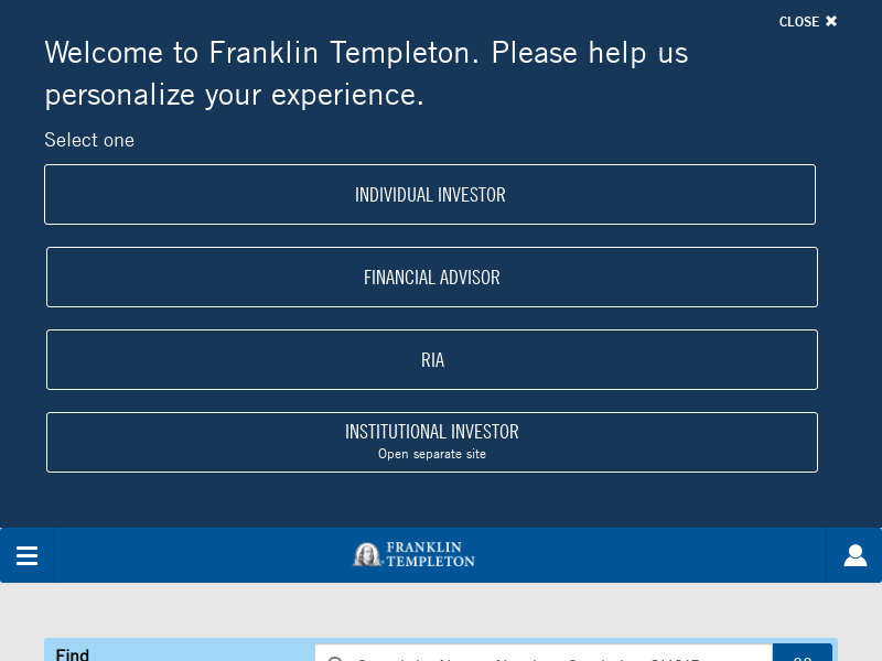 Mutual Funds | Investments | Franklin Templeton