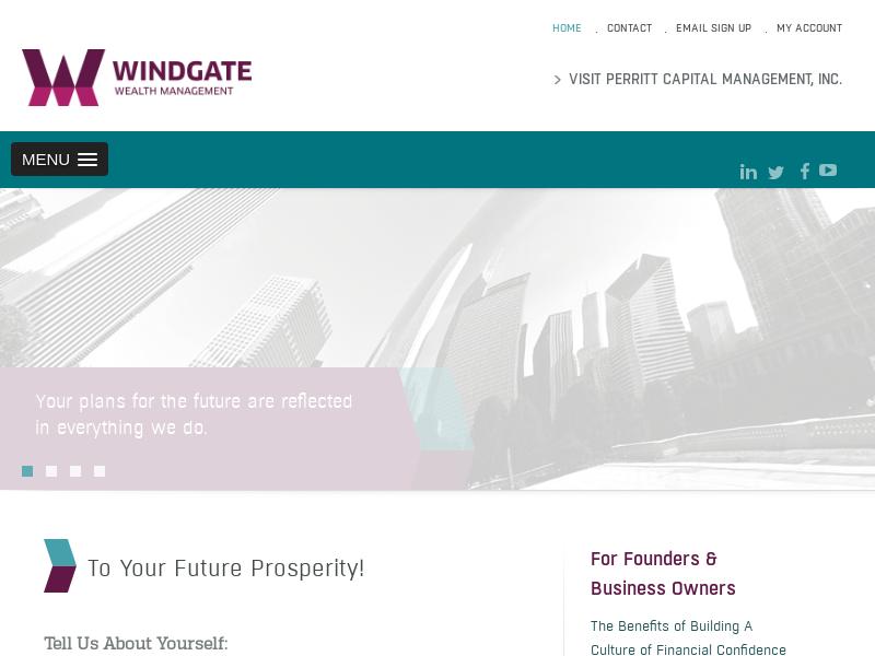 HOME - Windgate Wealth Management