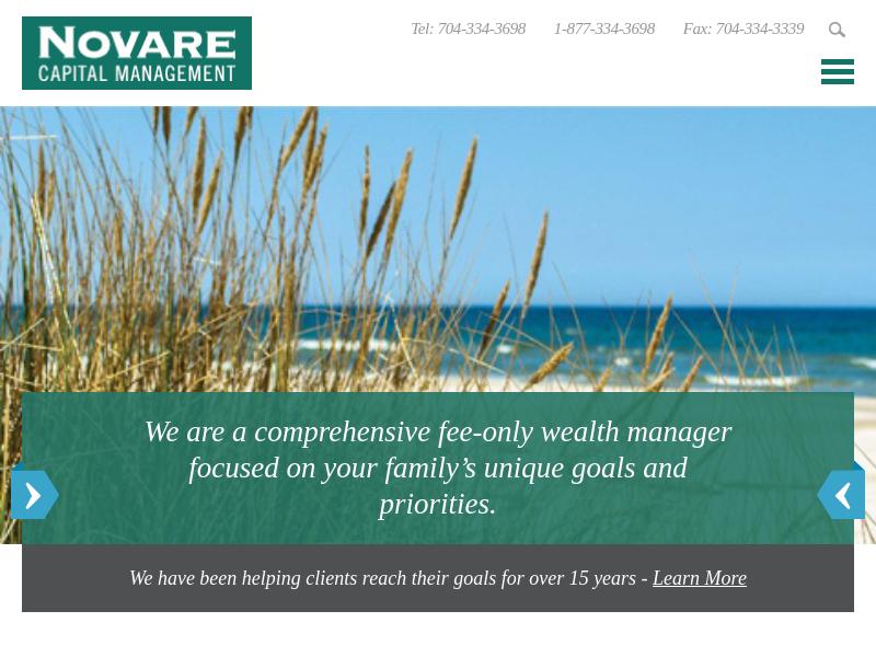 Novare Capital   Charlotte Investment Advisor Novare