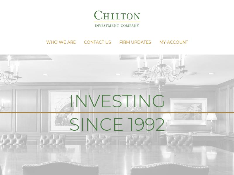 Chilton Investment Company