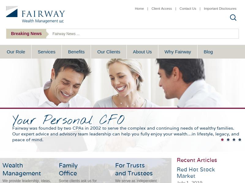 Fairway Wealth - Your Personal CFO