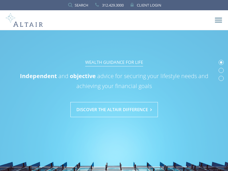 Altair Advisers   Investments, Financial Planning, Client Education