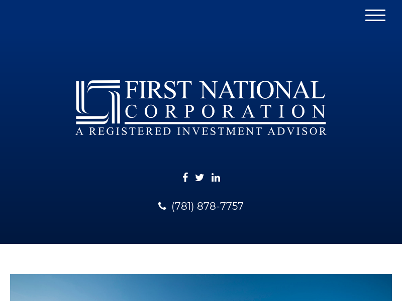 Home | First National Corporation