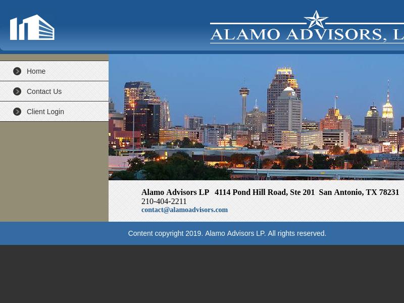 Alamo Advisors LP - Wealth Management