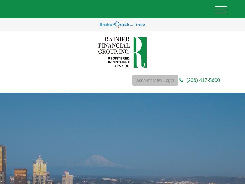Home | Rainier Financial Group, Inc.