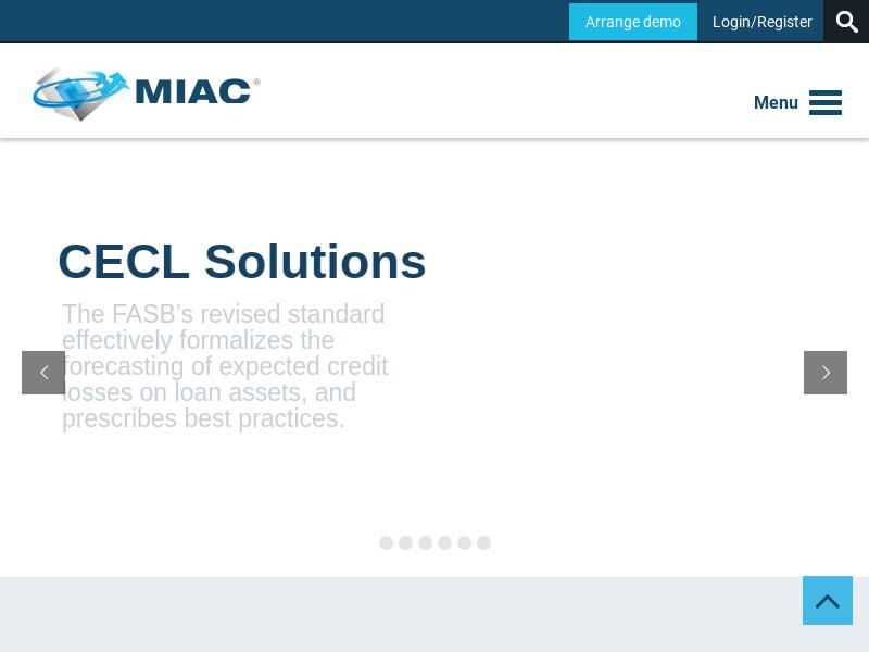 MIAC Analytics - Mortgage Industry Advisory Corporation